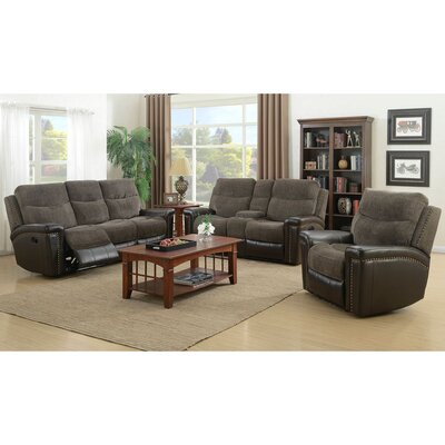 Deniece 3 Piece Living Room Set