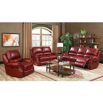 Denis 3 Piece Living Room Set