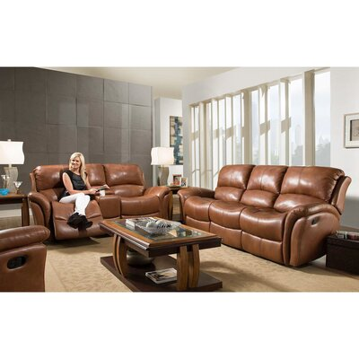 Czapla 3 Piece Leather Living Room Set