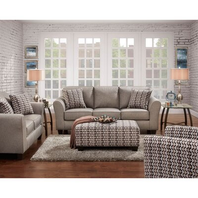 Weeden Loveseat Upholstery: Gray