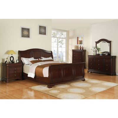 Shray Platform 5 Piece Bedroom Set Bed Size: Queen