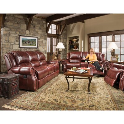 Additri 2 Piece Leather Living Room Set