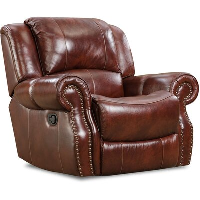 Additri Leather Manual Rocker Recliner