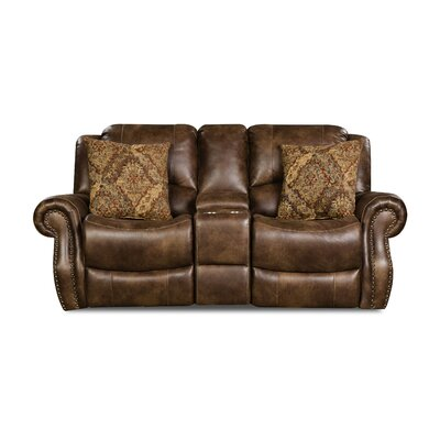 Phares Reclining Loveseat Recliner Mechanism: Manual