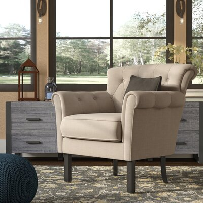Kelvin Armchair Upholstery: Beige