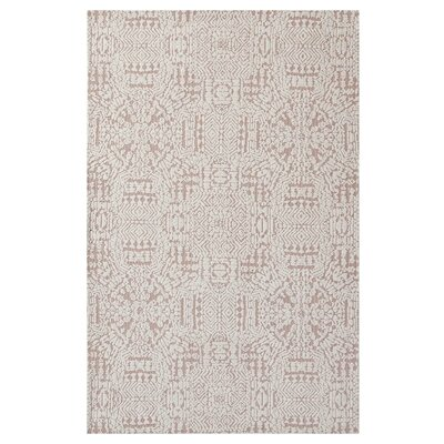 Burlison Ivory/Cameo Rose Area Rug Rug Size: Rectangle 8 x 10