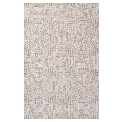Burlison Ivory/Cameo Rose Area Rug Rug Size: Rectangle 5x 8