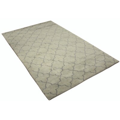 Kirksey Hand Knotted Wool Green/Gray Indoor Area Rug