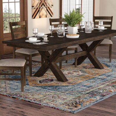 Bismark Pedestal Extendable Dining Table