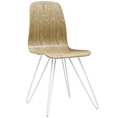 Lapine Solid Wood Dining Chair Color: Natural