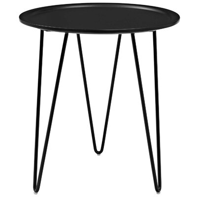 Batz End Table Color: Black