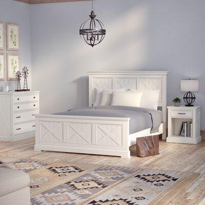 Ryles Panel 3 Piece Bedroom Set Size: Queen