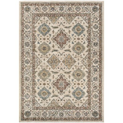 Grimaldo Mocha Area Rug Rug Size: Rectangle 53 x 76
