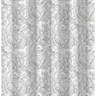 Harborview Paisley Cotton Shower Curtain