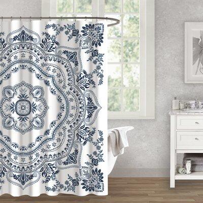 Berau Medallion Cotton Shower Curtain