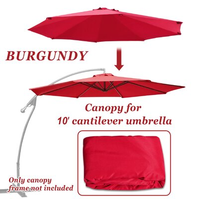 Celine Umbrella Canopy 8 Rib Top Outdoor Patio Replacement Cover FRPK2110 45430865