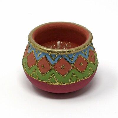 Mosaic Design Handmade Jar Candle BLMK7710 45487184