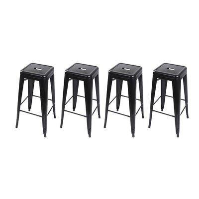 Armina 30 Bar Stool Color: Black