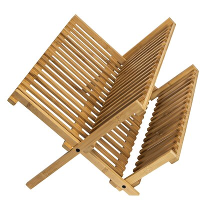 Bamboo Drying Dish Rack
