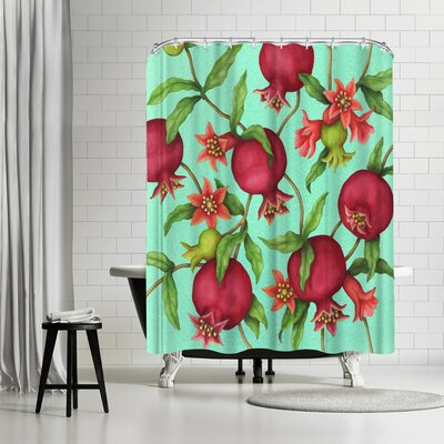 Three Mac Studio Pome Granate Shower Curtain