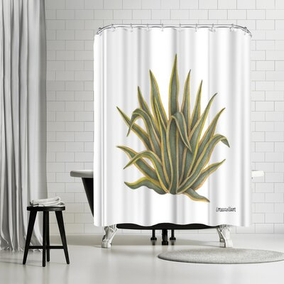 Three Mac Studio Agave Shower Curtain