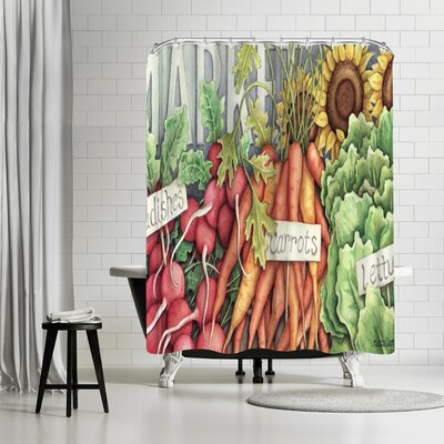 Three Mac Studio Market Shower Curtain