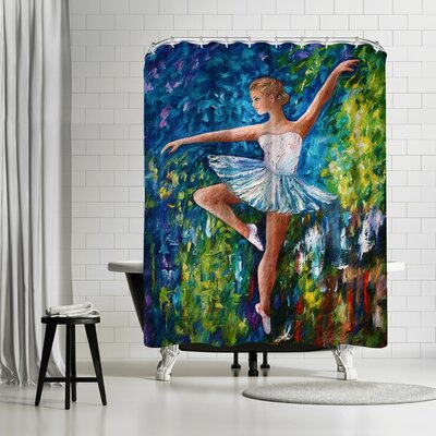 OLena Art Celebrating Spring Shower Curtain