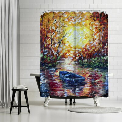 OLena Art Impression Sunset Shower Curtain