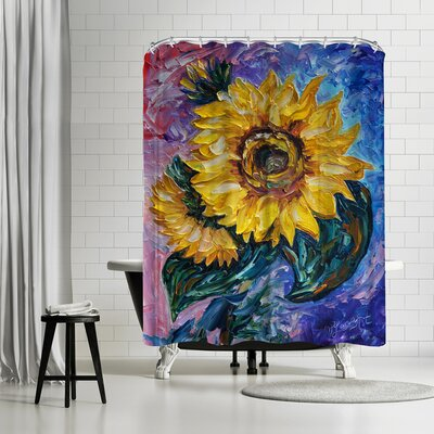 OLena Art That Sunflower From the State Shower Curtain
