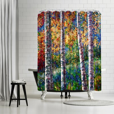 OLena Art A Midsummer Nights Dream Shower Curtain