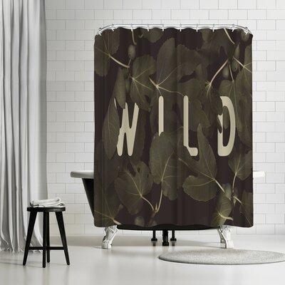 Florent Bodart Wild Main Shower Curtain