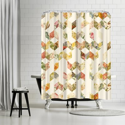 Florent Bodart Keziah Flowers Shower Curtain