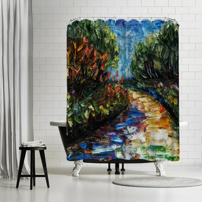 OLena Art Landscape Shower Curtain