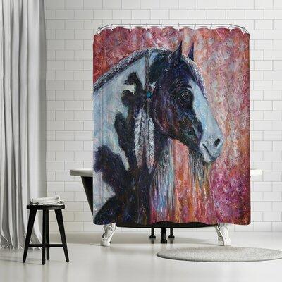 OLena Art Prairie Spirit Shower Curtain