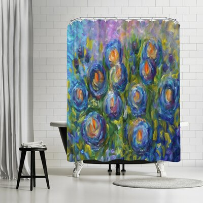 OLena Art Roses Shower Curtain
