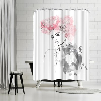 Alison B Garland Shower Curtain