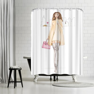 Alison B Nyc Chic Shower Curtain