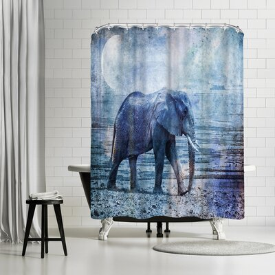 Lebens Art Elephant Kopie Shower Curtain