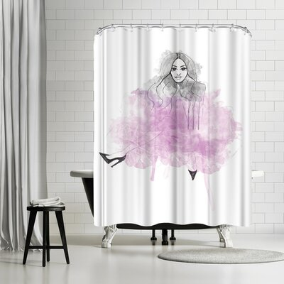 Alison B Tutu Love Shower Curtain