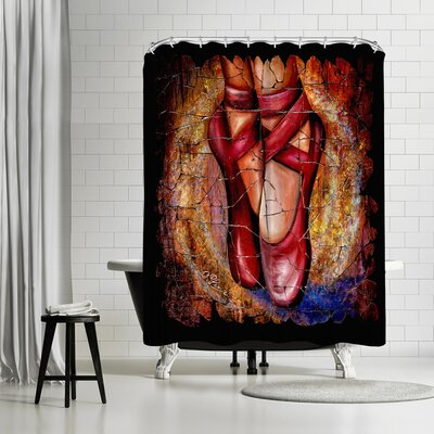 OLena Art Ballet Shower Curtain