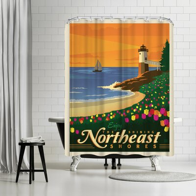 Macys Northeast Shower Curtain