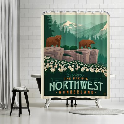 Macys Northwest Shower Curtain