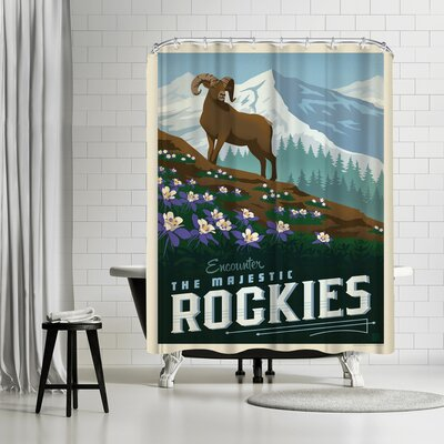 Macys Rockies Shower Curtain