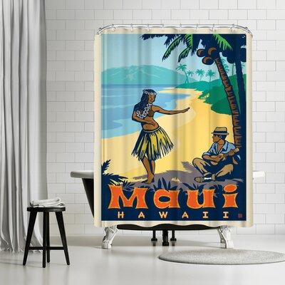 Maui HI Shower Curtain