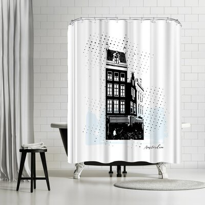 Ikonolexi Amsterdam Shower Curtain