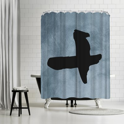 Ikonolexi Plus Sign Shower Curtain