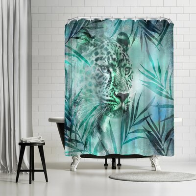 Lebens Art Gepard Shower Curtain