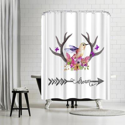Lebens Art Kolibri Dream Shower Curtain
