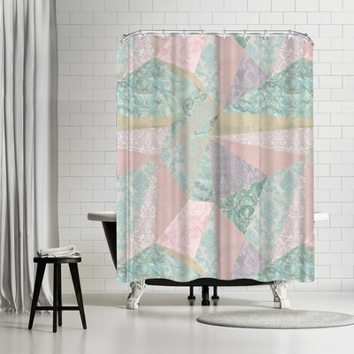 Lebens Art Patchwork Master Shower Curtain