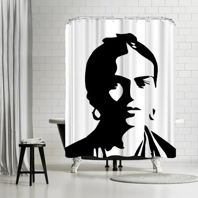 Ikonolexi Frida Kahlo Shower Curtain
